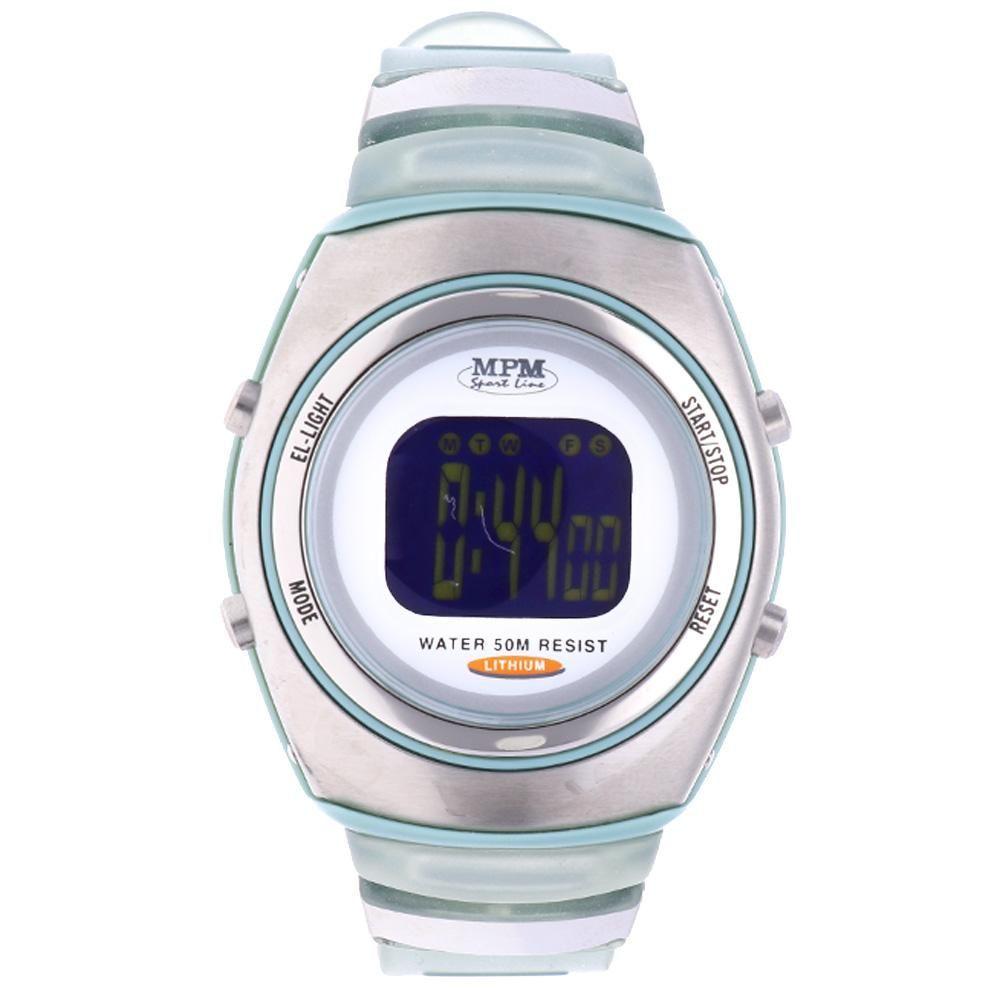 Digitální hodinky s ukazatelem data, alarmem, stopkami a podsvíceným displayem..01649 170184 Hodiny
