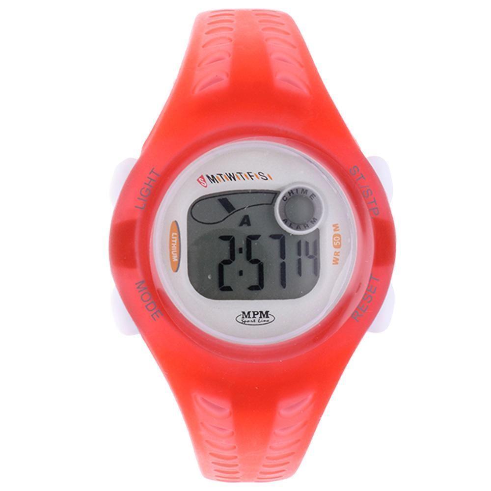Digitální hodinky s ukazatelem data, alarmem, stopkami a podsvíceným displayem..01650 170185 Hodiny