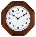 Hodiny na zeď Nástěnné hodiny hranaté m4271.7 medová barva, m4272.3 buk 139076 Designové hodiny