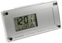 Rádiem řízený budík s funkcí opakovaného buzení, s LED podsvícením, ukazatelem data, dne v týdnu a teploty..01622 170155 Hodiny