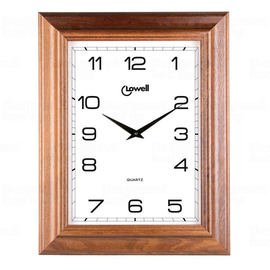Designové nástěnné hodiny 03502 Lowell 40cm 170369 Lowell Italy Hodiny