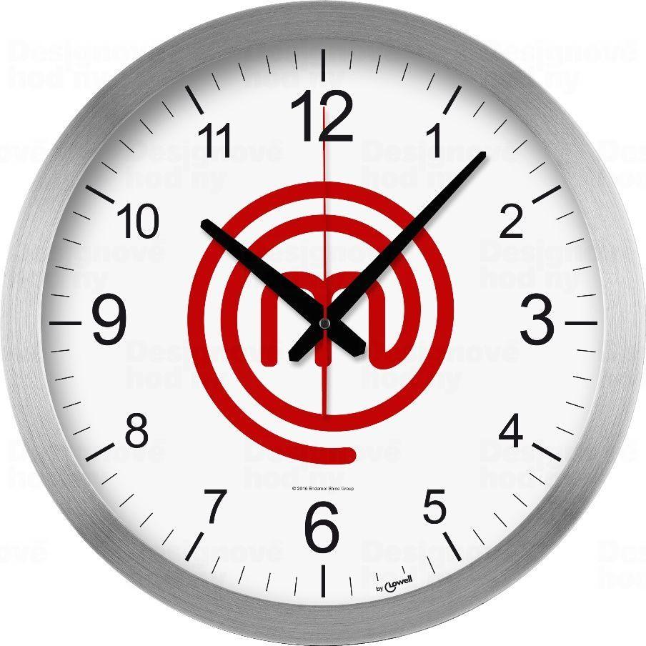 Designové nástěnné hodiny 14930MA Lowell 40cm 170373 Lowell Italy Hodiny