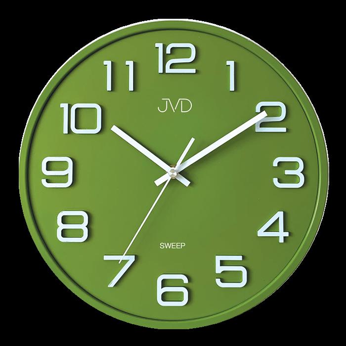 Hodiny JVD SWEEP zelené HX2472.2 170278 Hodiny