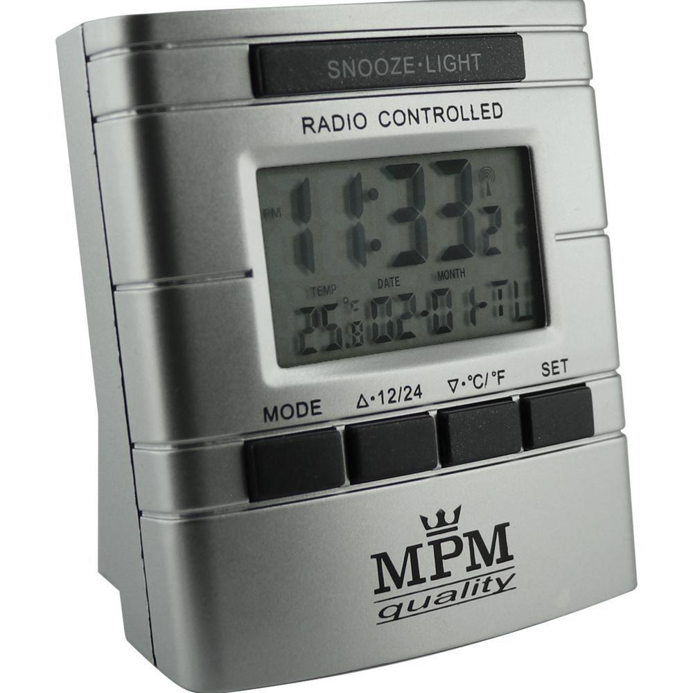 Rádiem řízený budík s ukazatelem teploty, data a dne v týdnu..01685 170398 Hodiny
