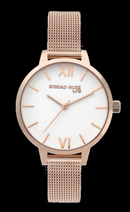 SUNDAY ROSE Fashion PINK ELEGANCE 170473 JVD Hodiny
