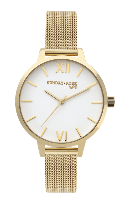 SUNDAY ROSE Fashion ROYAL GOLD 170476 Hodiny