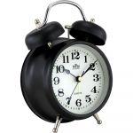 Kovový budík s klasickým zvoněním, které zaručí probuzení i z tvrdého spánku..01780 170554