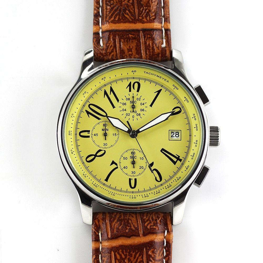 Atraktivní pánské sportovní hodinky s chronografem a datumem..0301 170686 Hodiny