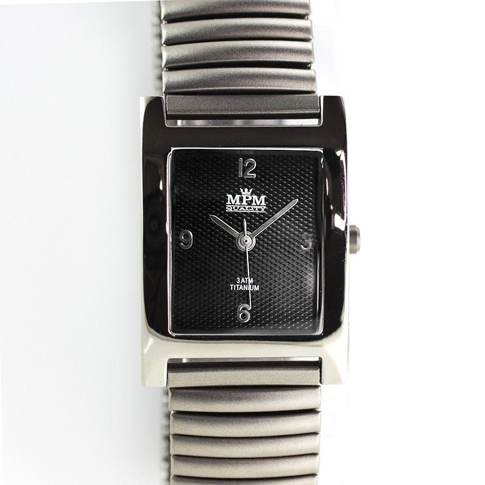 Dámské hodinky s elegantním číselníkem v titanovém pouzdře..0232 170620 Hodiny