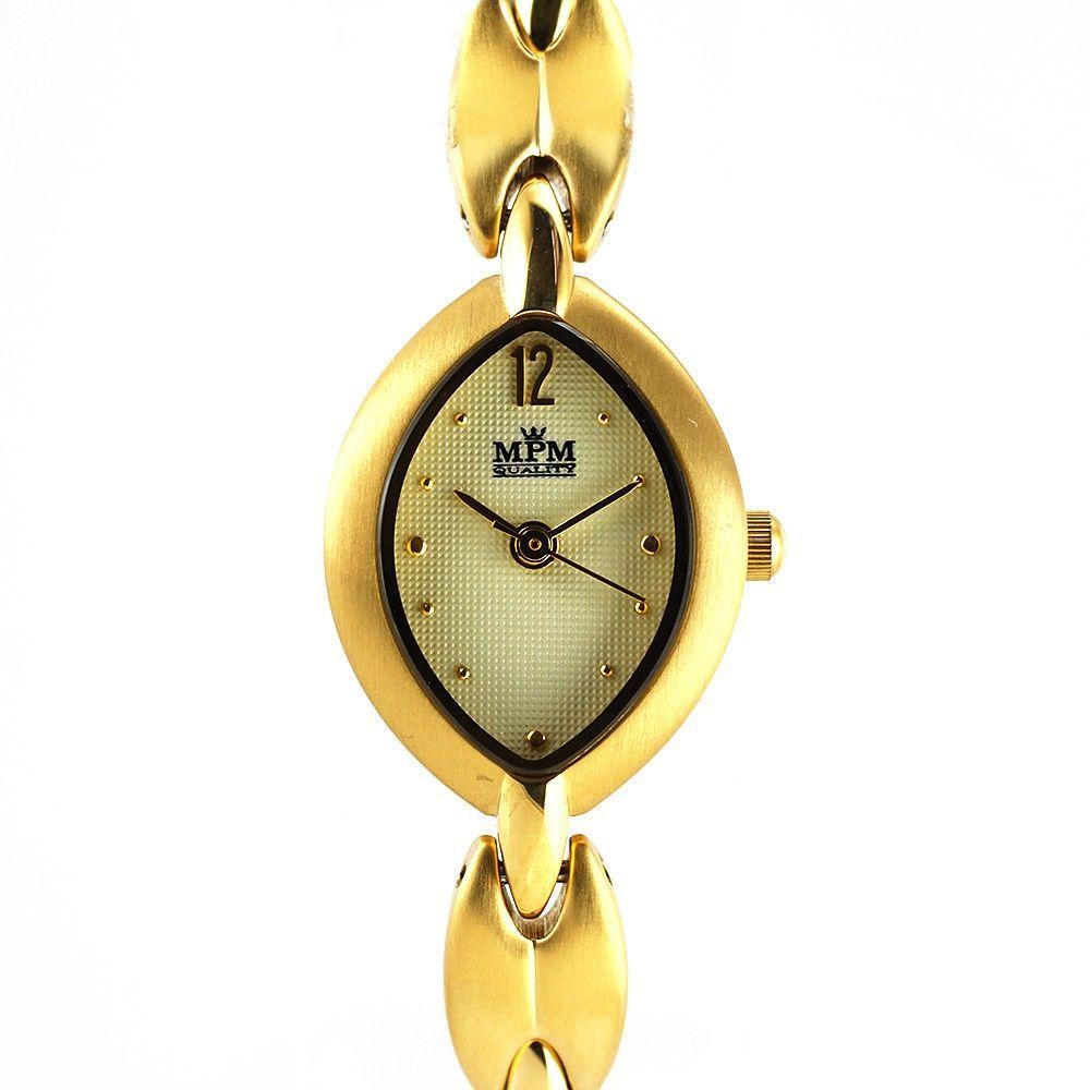Dámské společenské hodinky s reliéfním číselníkem jemného designu..0250 170638 Hodiny