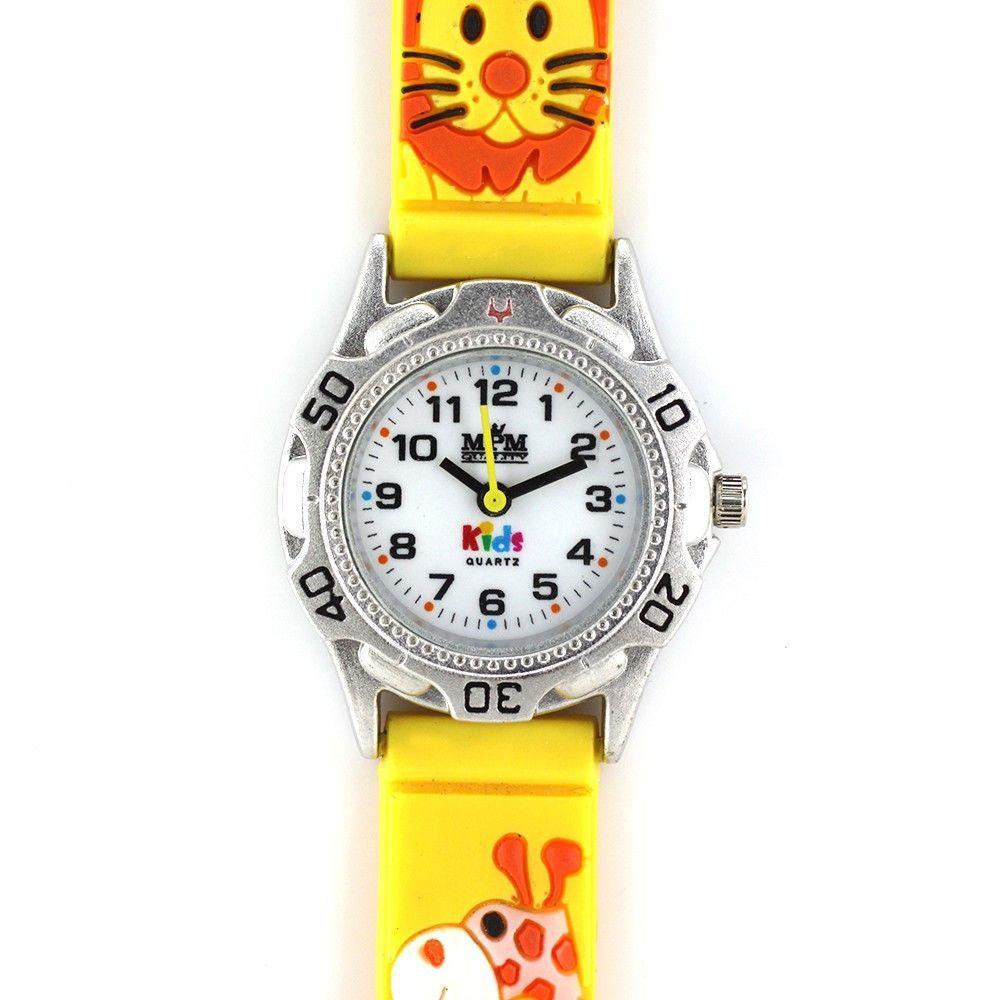 Dětské hodinky s barevným silikonovým řemínkem..0240 170628 Hodiny