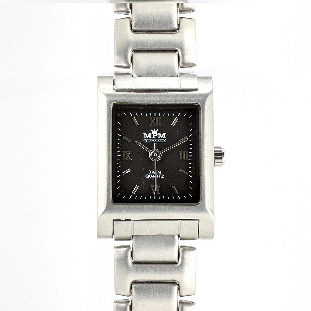 Elegantní dámské hodinky s černým číselníkem.0217 170605 Hodiny