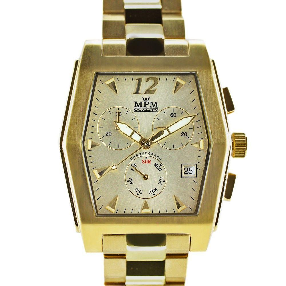 Elegantní pánské hodinky s chronografem a datem..0292 170679 Hodiny