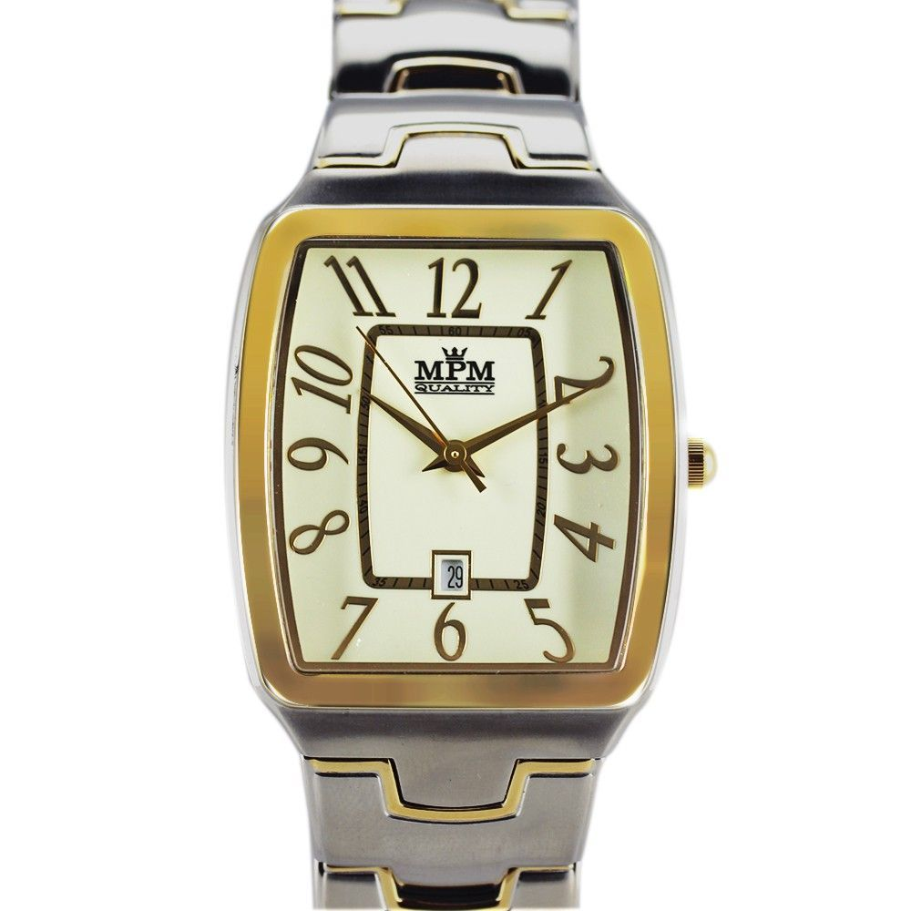 Elegantní pánské hodinky s datem..0291 170678 Hodiny