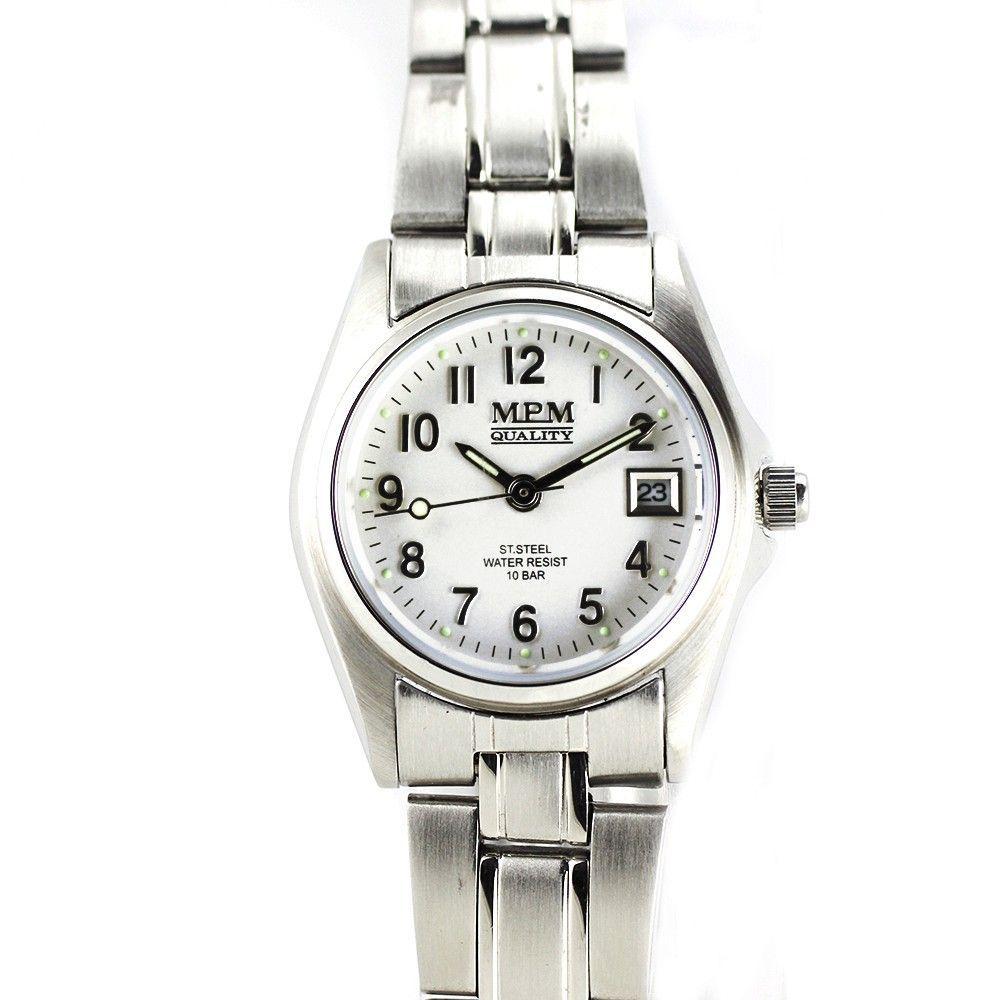 Klasické dámské hodinky s ukazatelem datumu..0245 170633 Hodiny