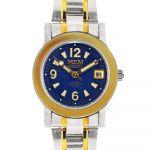 Kombinované hodinky s datumem a černým číselníkem..0261 170649 Hodiny