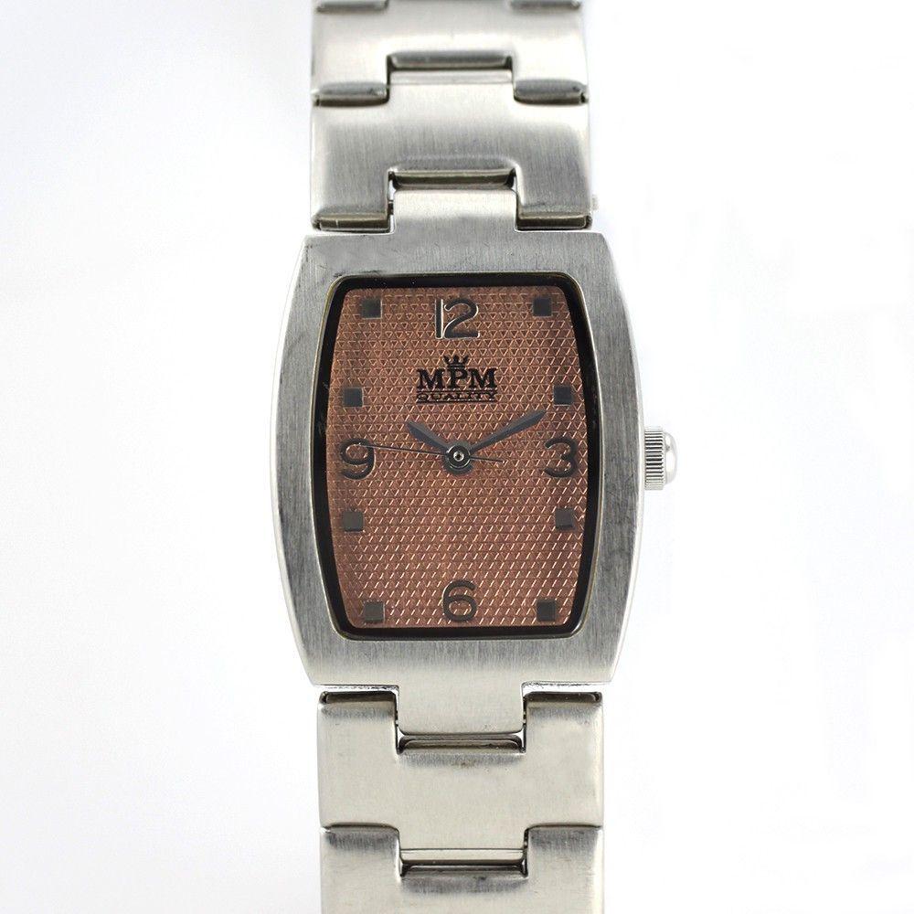 Minimalistické dámské hodinky s oranžovým číselníkem.0216 170604 Hodiny