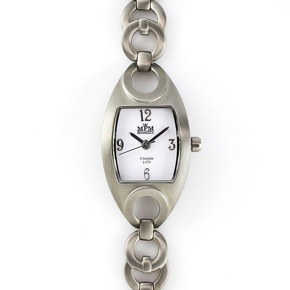 Netradiční dámské titanové hodinky v jemném designu..0237 170625 Hodiny