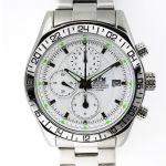Pánské hodinky s chronografem, datem a černým ciferníkem.0190 170578 Hodiny