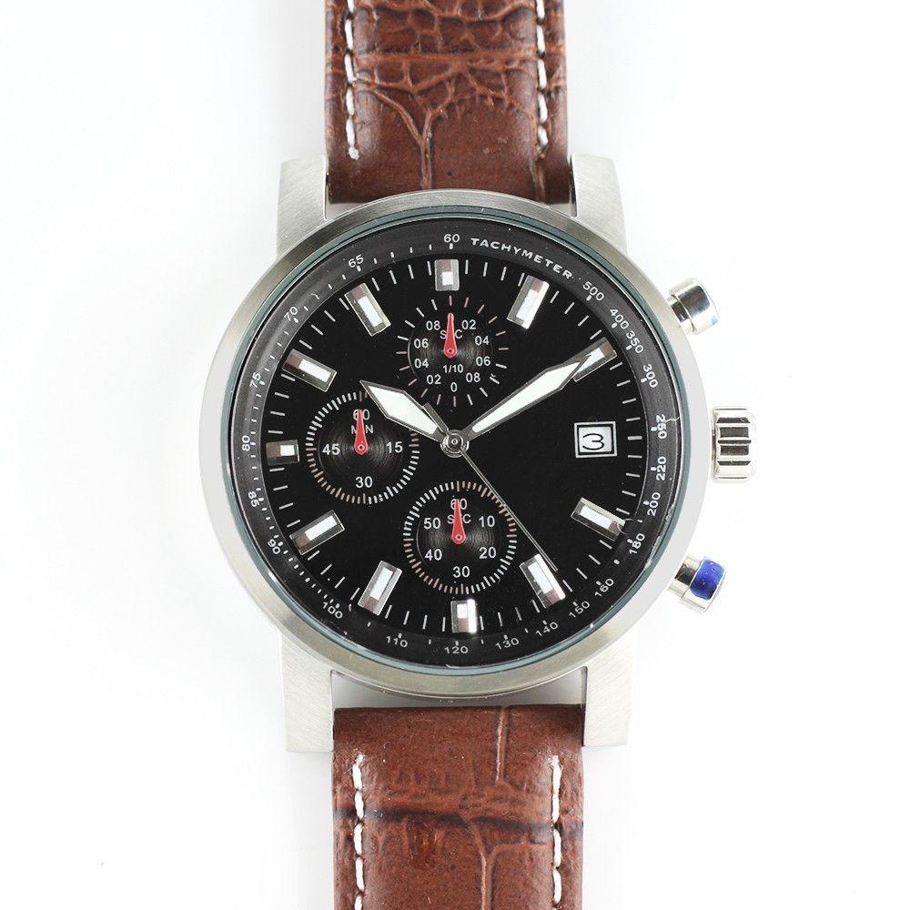 Pánské hodinky s ocelovým pouzdrem..0302 170687 Hodiny