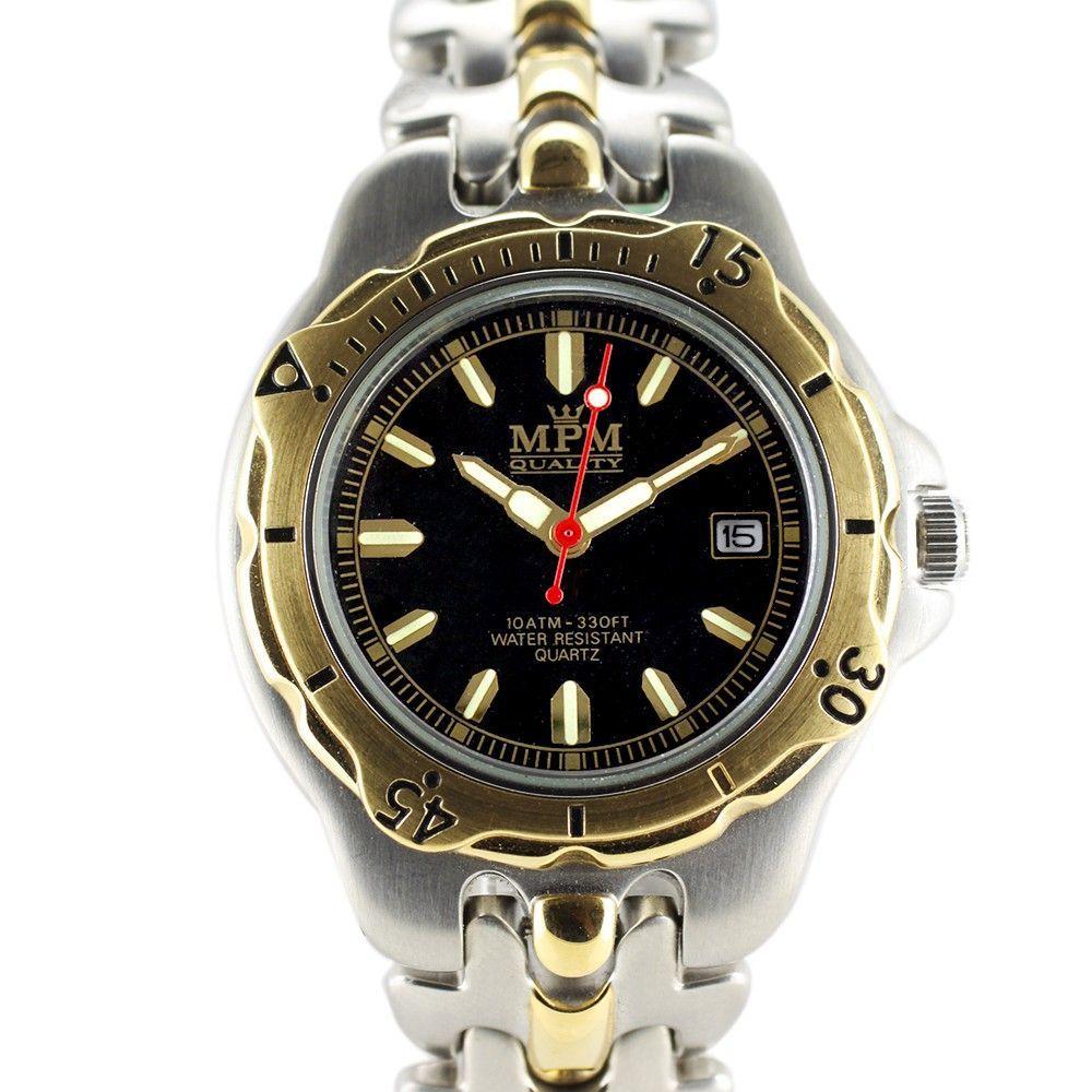 Sportovní hodinky s lunetou a černým ciferníkem..0304 170689 Hodiny