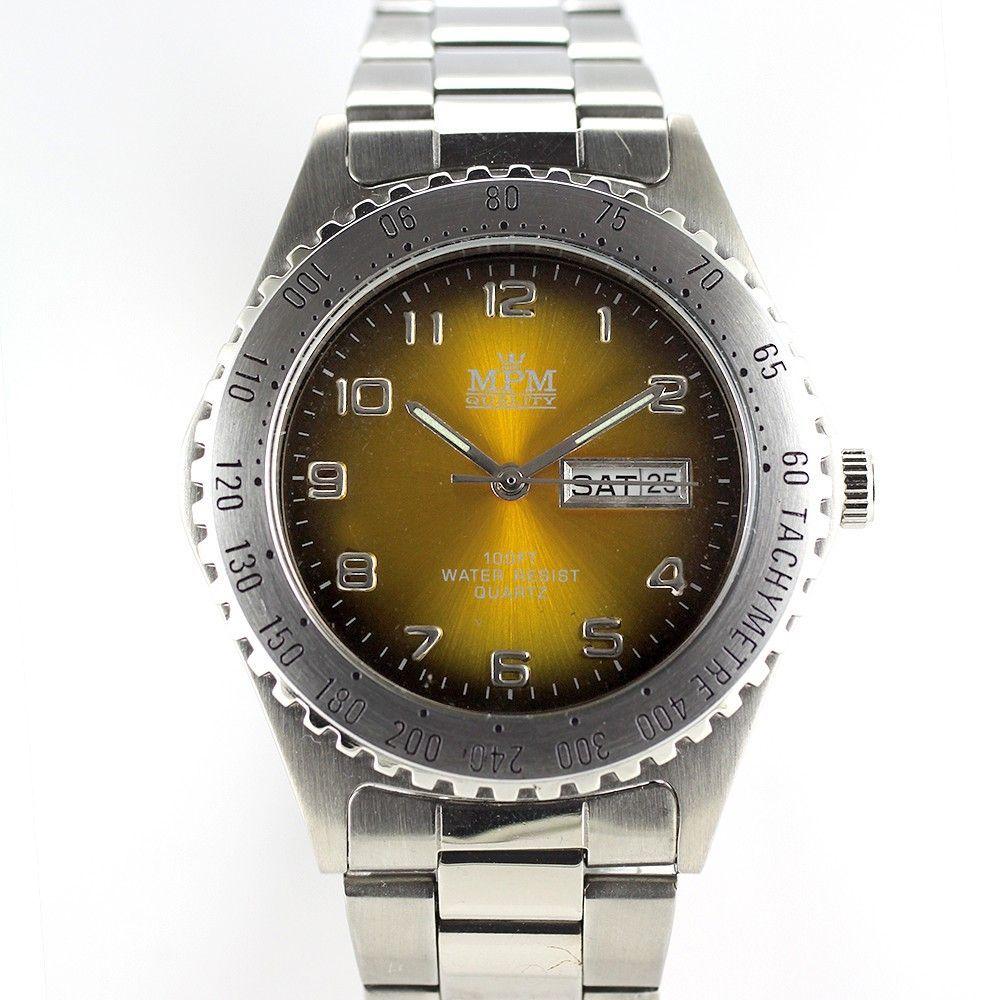 Sportovní pánské hodinky s datem, barevně atraktivní číselník..0289 170676 Hodiny