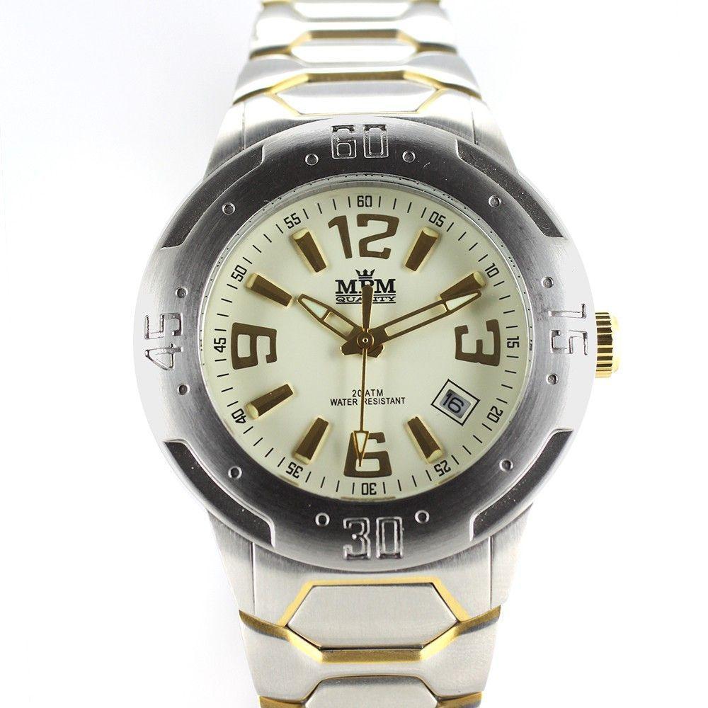 Sportovní pánské hodinky s datem..0303 170688 Hodiny