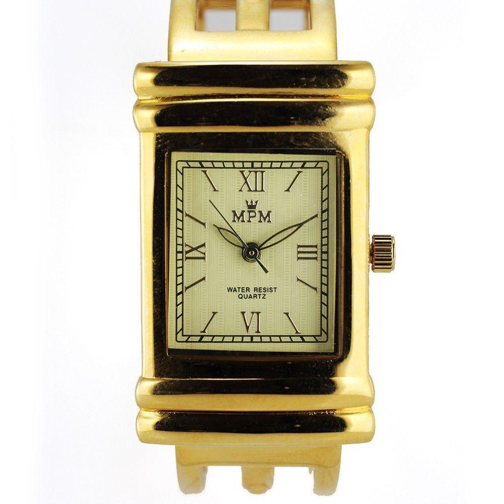 Dámské hodinky na pevném náramku s římskými indexy..0404 170773 Hodiny