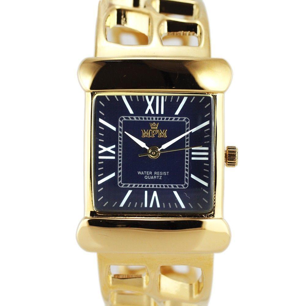 Dámské hodinky na pevném náramku s římskými indexy..0403 170772 Hodiny