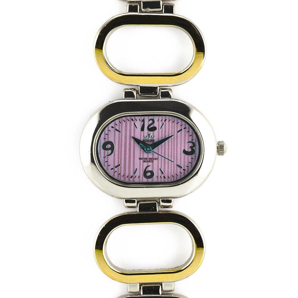 Dámské hodinky oválného vzhledu s modrým číselníkem..0420 170788 Hodiny