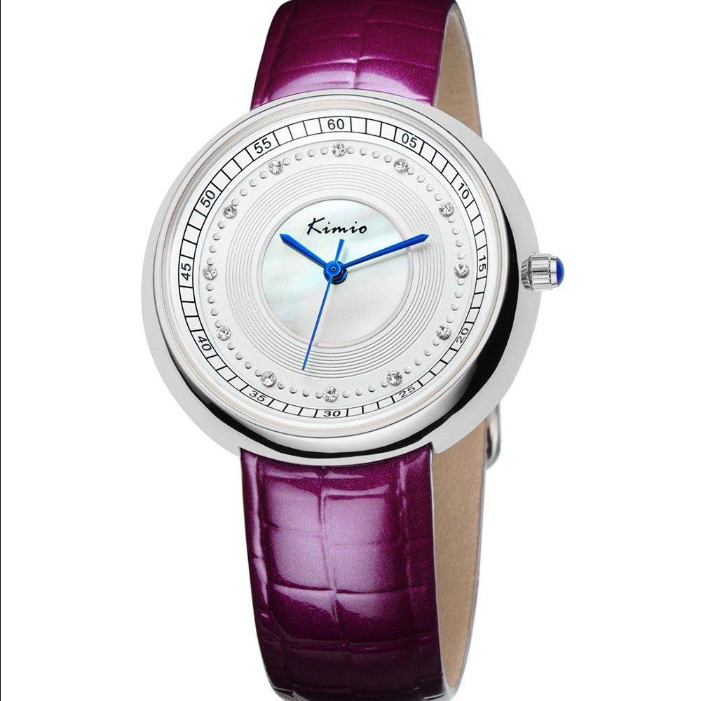 Dámské hodinky s modrým páskem a stříbrným číselníkem..0513 170833 Hodiny