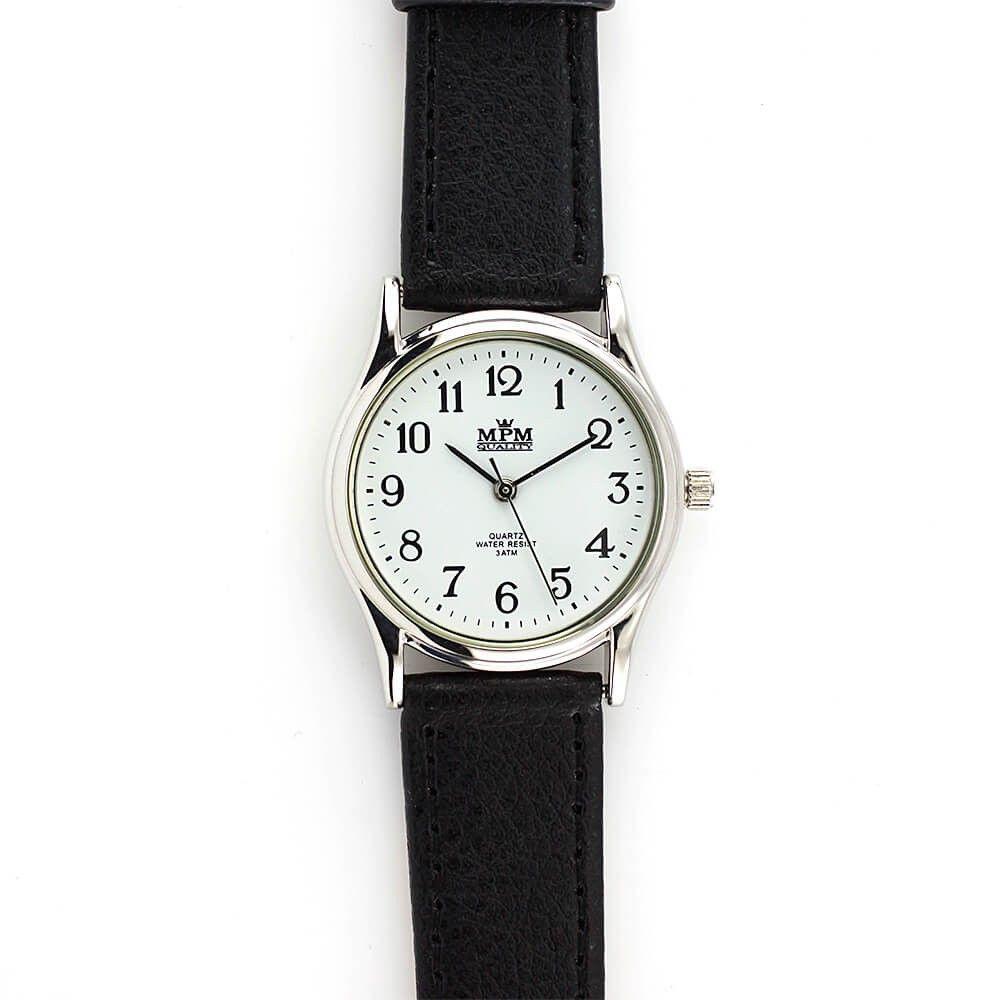 Dámské společenské hodinky s černým řemínkem..0359 170743 Hodiny