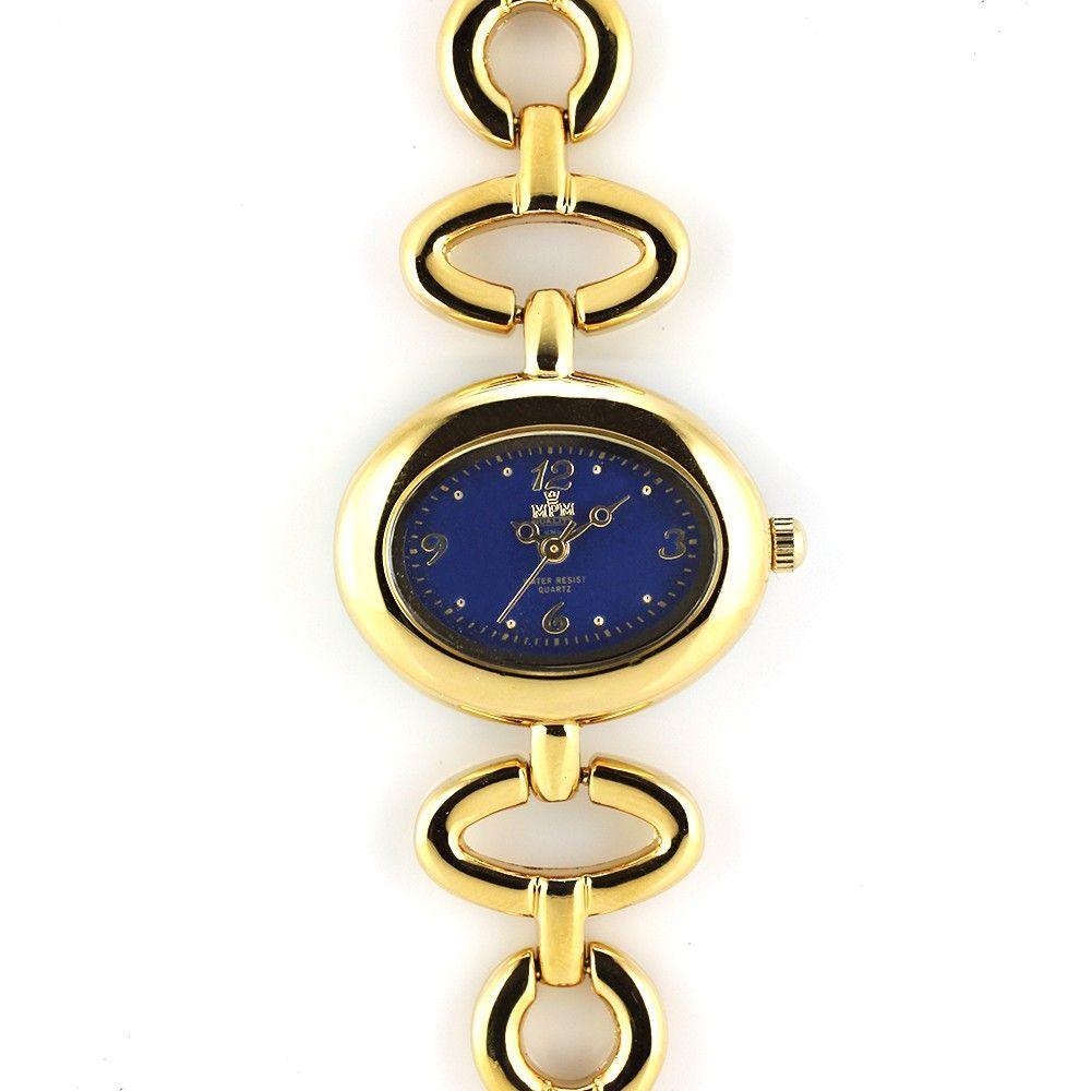 Jemné dámské hodinky oválného tvaru s bílým číselníkem..0363 170747 Hodiny