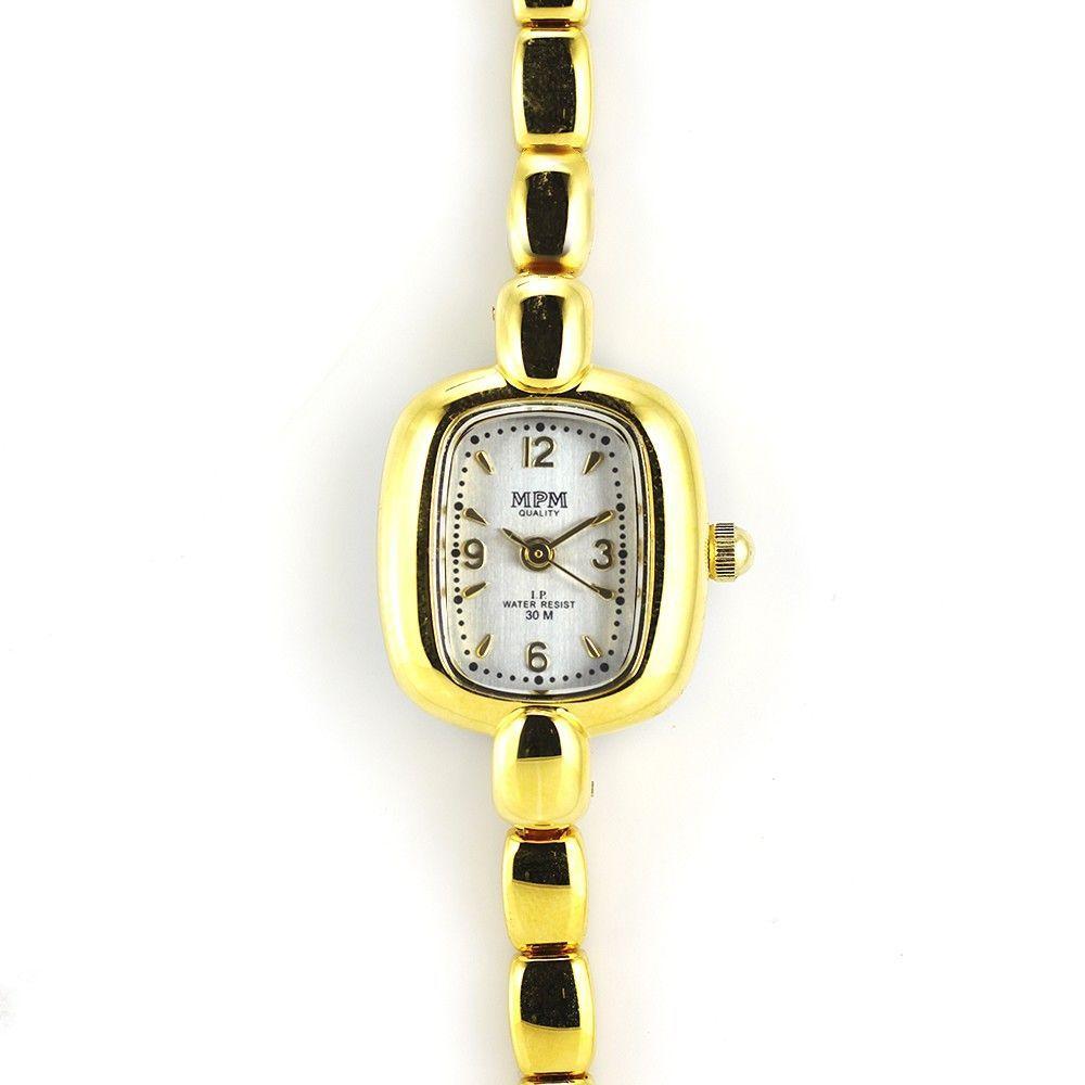 Jemné dámské hodinky zlaté barvy..0421 170789 Hodiny
