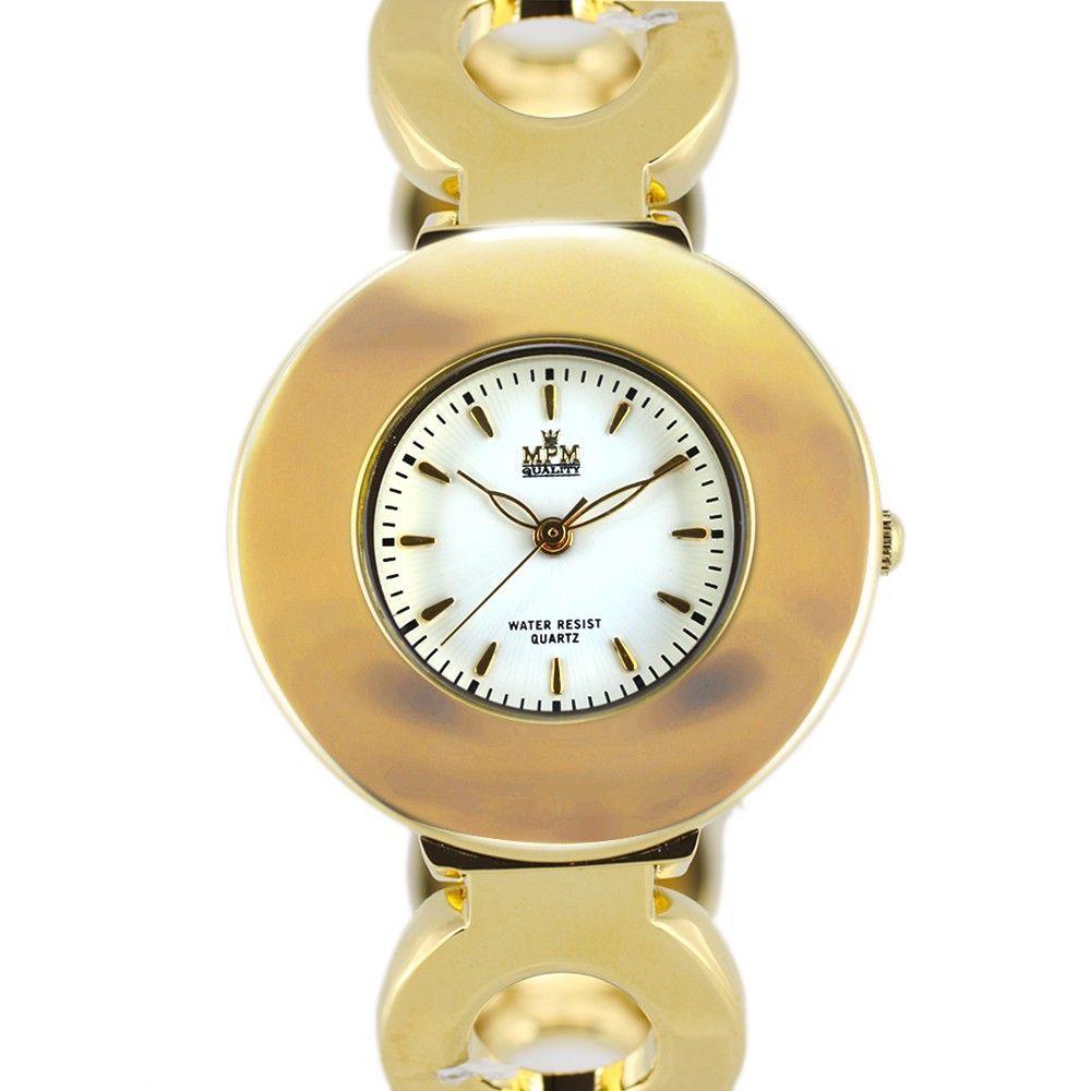 Módní dámské hodinky na pevném náramku s reliéfním číselníkem..0397 170766 Hodiny