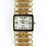 Nepřehlédnutelné dámské společenské hodinky s řetízkovým náramkem..0321 170706 Hodiny