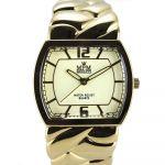Pevné náramkové hodinky na klip. Hodinky mají tvarované sklíčko..0395 170764 Hodiny