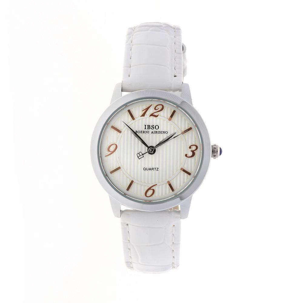 Dámské společenské hodinky s koženým řemínkem..0523 170843 Hodiny