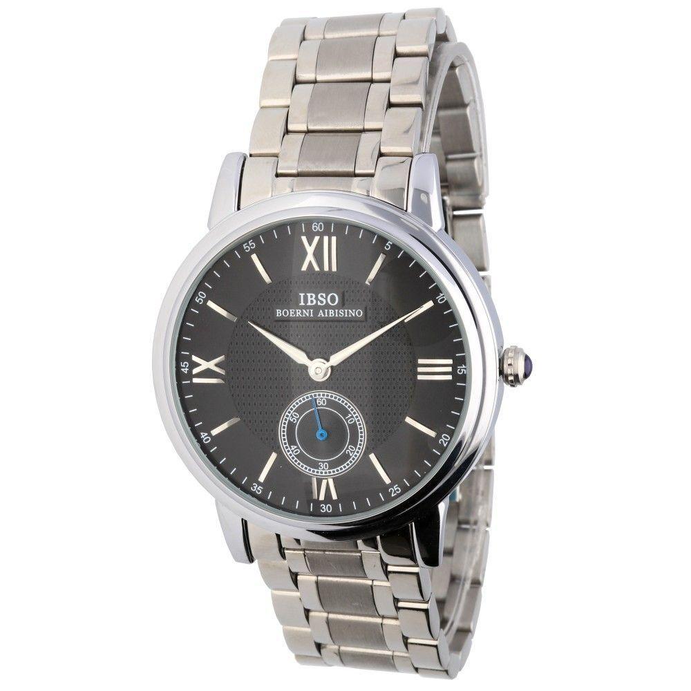 Klasické hodinky s ocelovým řemínkem a bílým ciferníkem..0602 170885 Hodiny