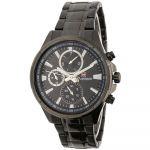Moderní pánské hodinky s chronografem a ocelovým řemínkem..0616 170897 Hodiny