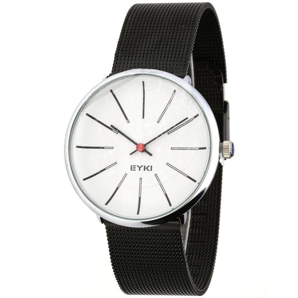 Pánské hodinky s jemným ocelovým řemínkem a stylovým číselníkem..0613 170894 Hodiny