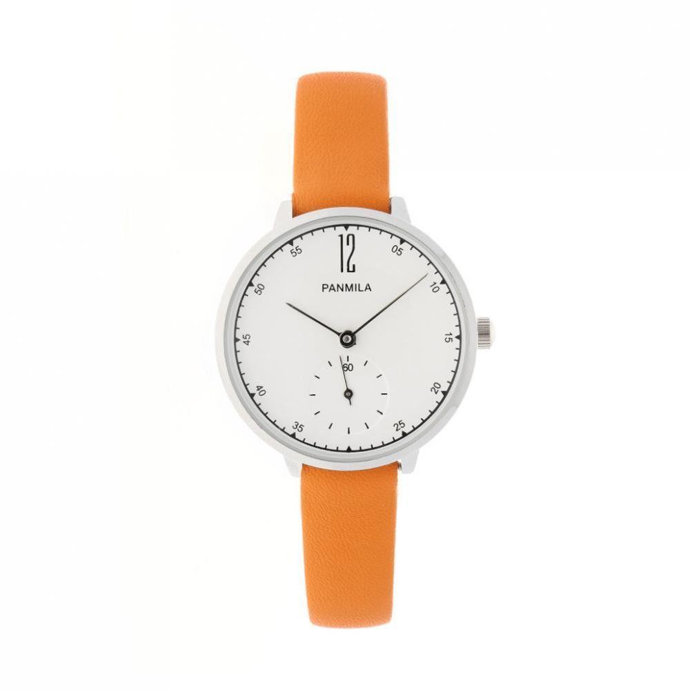 Dámské fashion hodinky v barevných provedeních s originálním jemným koženým řemínkem..0900 171045 Hodiny