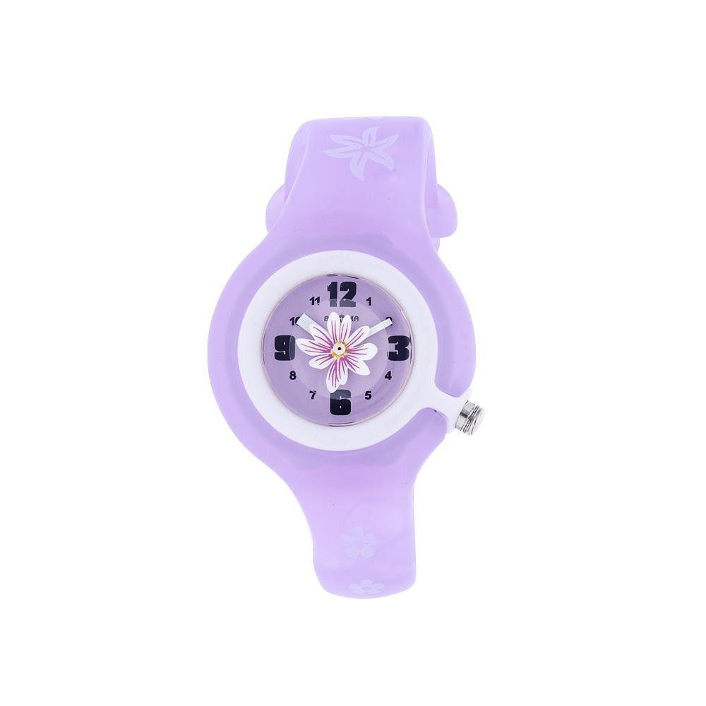 Dětské quartz hodinky s barevným plastovým řemínkem a obrázky..01006 171137 Hodiny