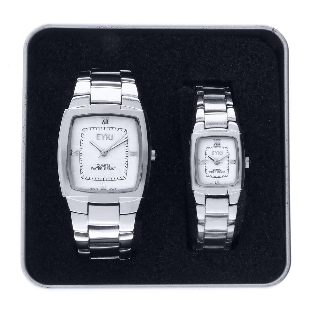 Unisexová sada hodinek 31x33 mm a 19x22 mm..01345 171454 Hodiny