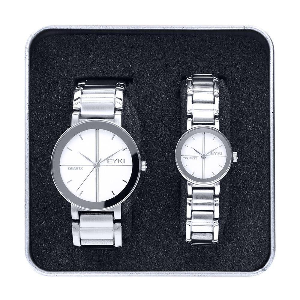 Unisexová sada hodinek Ø 32 mm a Ø 21 mm..01346 171455 Hodiny