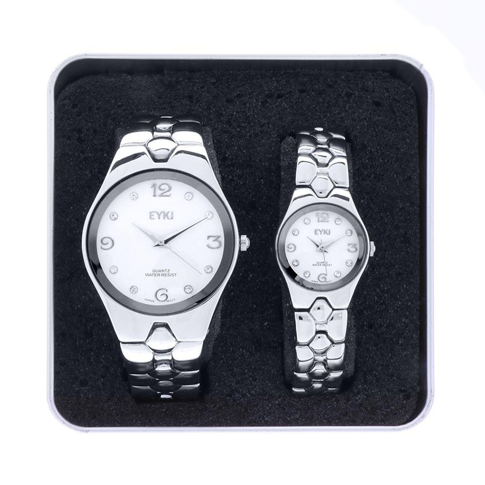 Unisexová sada hodinek Ø 35 mm a Ø 23 mm..01348 171457 Hodiny