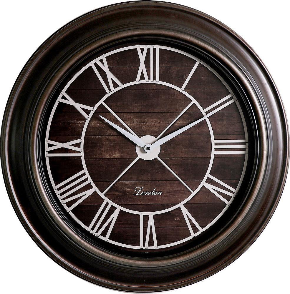 Designové nástěnné hodiny s římskými číslicemi vhodné do originálního interiéru..01548 171563 Hodiny