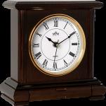 Dřevěné stolní hodiny s římskými číslicemi a praktickou zásuvkou..01575 171582 Hodinářství