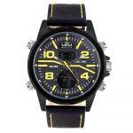 Pánské anadigi hodinky MPM s koženým řemínkem. .01382 171477 Hodiny