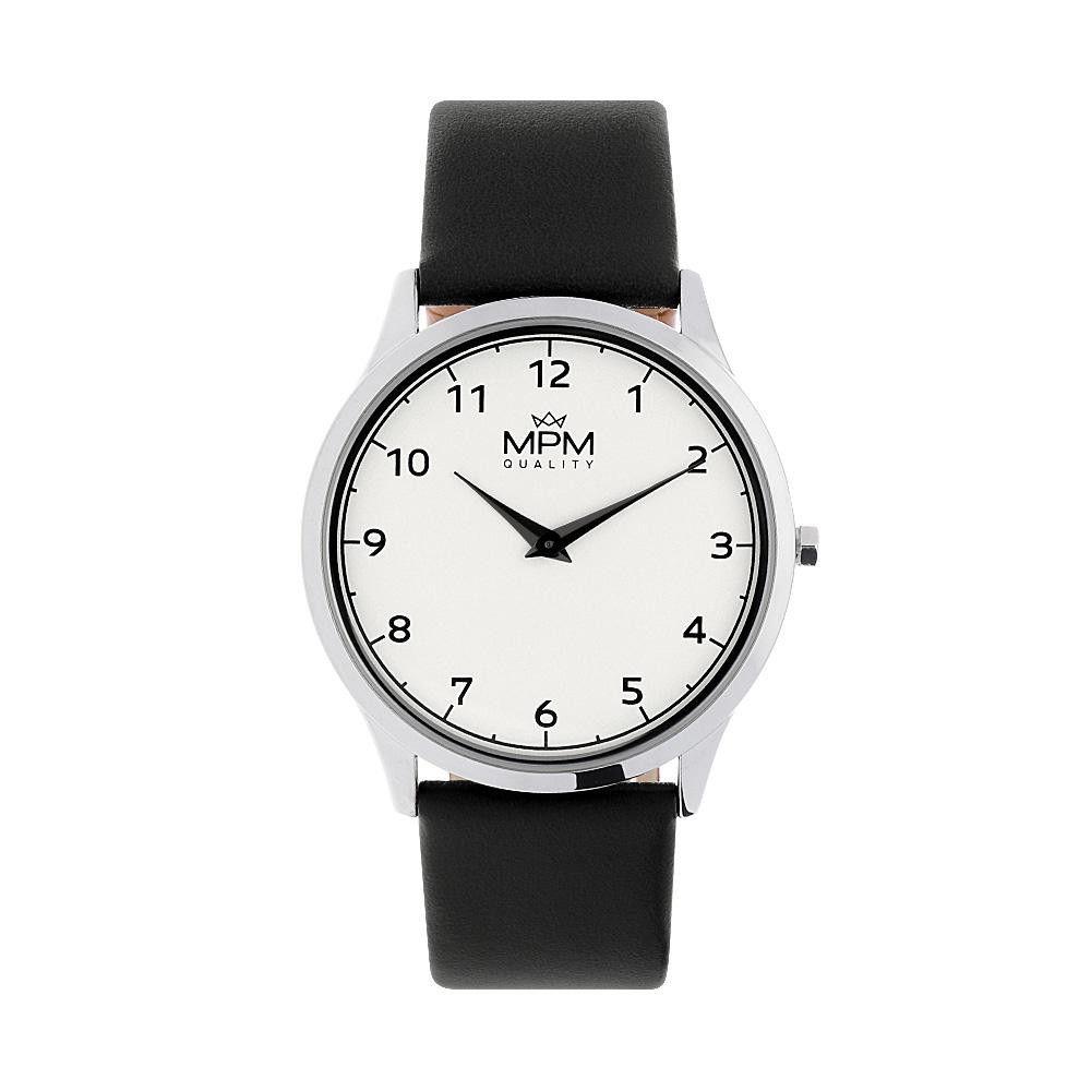 Pánské elegantní klasické hodinky s koženým řemínkem. .01384 171479 Hodiny